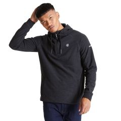 Regatta Men's Forgo Half Zip Hooded Fleece Ebony Grey
