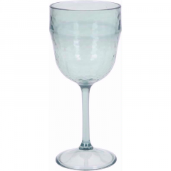 Clear Plastic Wine Glass - 340ml