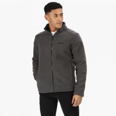 Regatta Men's Garrian Full Zip Fleece - Briar Black