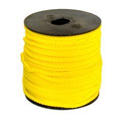 3mm Guy Line - 50 Metre Roll - Yellow