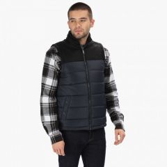 Regatta Men's Hadley II Quilted Insulated Bodywarmer - Navy Black