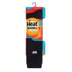 Heat Holders Womens Lite Long Sock - Black