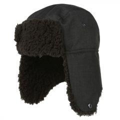 Regatta Men's Halian II Fleece Lined Trapper Hat - Black