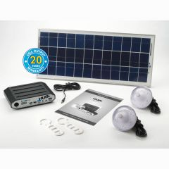 HUBi 10K - 10AMP Solar Lighting & Power System