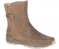 Merrell Icepack Guide Buckle Polar Waterproof Womens Boots - Stone