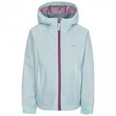 Trespass Impressed Kid's Waterproof Jacket - Pale Mint