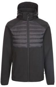 Trespass Lenek Men's Softshell Jacket - Black