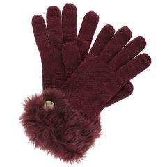 Regatta Luz Gloves - Burgundy