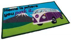 Camper Van Mat - Home Is Where You Park It