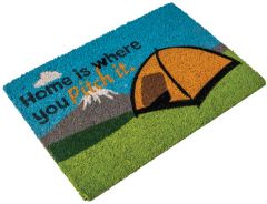 Tent Coir Mat - Home Is Where You Pitch It