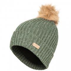 Trespass McNally Women's Knitted Bobble Hat - Moss