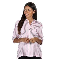 Regatta Meera Womens Shirt Violet Stripe