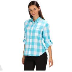 Regatta Women's Merrial Long Sleeve Shirt - Azure Blue
