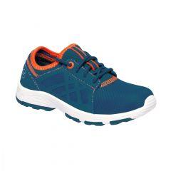 Regatta Kids' Marine Sport II Trainers Sea - Blue Blaze Orange