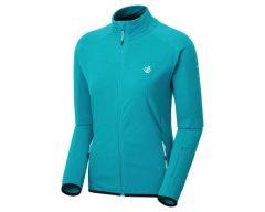 Dare2b Methodic Women's Full Zip Fleece - Freshwater Blue