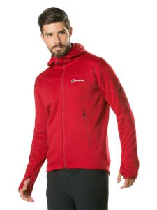 Berghaus Pravitale Mountain 2.0 Mens Hooded Jacket - Red