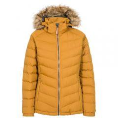 Trespass Nadina Hooded Jacket - Golden Brown