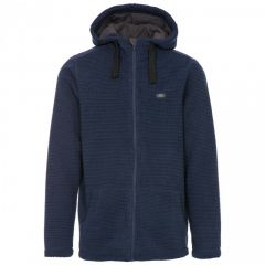 Trespass Napperton Men's Hooded Fleece Jacket - Navy