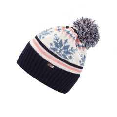 Skogstad Nostalgi Knitted Hat - White