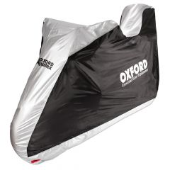 Oxford Aquatex Motorcycle Cover - Large with Top Box