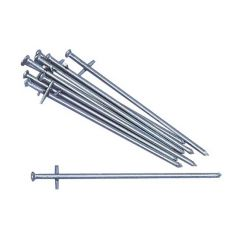 Awning & Tent Cross Nail Pegs - Pack of 6