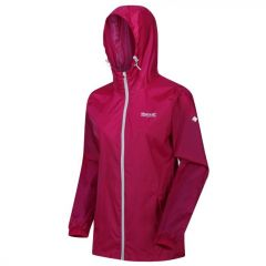 Regatta Women's Pack-It Jacket III Waterproof Packaway Jacket - Dark Cerise