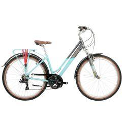 Raleigh Pioneer Trail Low Step Hybrid Bike