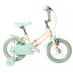 "Raleigh Pop 14 White - 14"" Wheel Girls Bike"