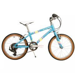 "Raleigh Pop 18 Light Blue - 18"" Wheel Kids Bike"