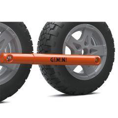 Purple Line Gemini Twin Wheel Lock