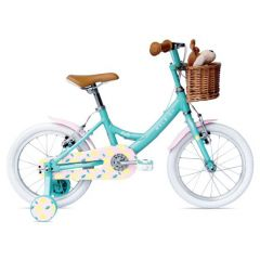 "Raleigh Molli 16"" Wheel Girls Bike Aqua - 2021 Edition"