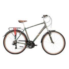 Raleigh Pioneer Trail Gents Crossbar Bike Green