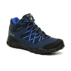 Regatta Kids' Edgepoint Waterproof Walking Boots Briar Electric Lime