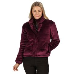 Regatta Womens Elbury Puffer Jacket Prune