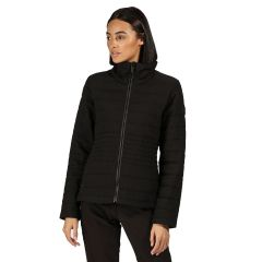 Regatta Luster Womens Quilted Jacket Black