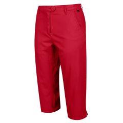 Regatta Maleena Women's Capri Trousers - True Red