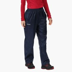 Regatta Women's Pack It Waterproof Overtrousers - Midnight/Navy