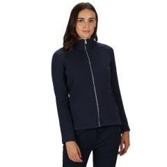 Regatta Women's Sadiya Full Zip Quilted Fleece Navy