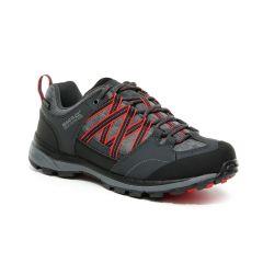 Regatta Samaris II Low Women's Walking Shoes - Granite/Red Sky (V)