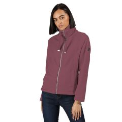 Regatta Women's Kimberley Walsh Zaylee Full Zip Mid Weight Fleece Dusky Heather