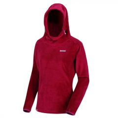 Regatta Women's Halia Velour Hoodie - Beetroot