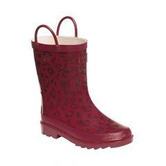 Regatta Kids Minnow Junior Wellington Boot - Persian Red
