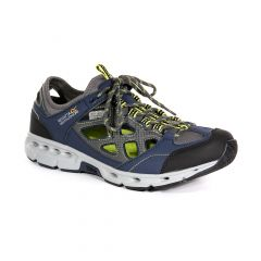 Regatta Men's Samaris Crosstrek Sandals - Navy Lime Punch