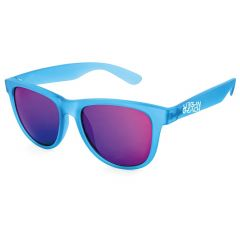 Urban Beach Unisex Blue Tron Wayfarer Sunglasses