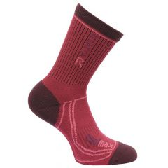 Regatta Women's 2 Season Coolmax Trek And Trail Sock - Burgundy