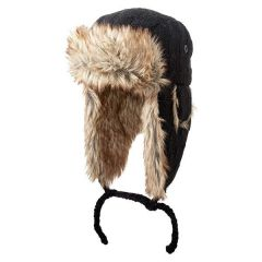 Screamer Soho Trapper Hat - Black