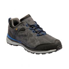 Regatta Men's Samaris Suede Low Walking Shoes - Briar Oxford Blue
