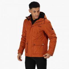 Regatta Men's Sterlings Waterproof Insulated Jacket - Burnt Umber