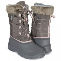 Trespass Stavra II Women's Insulated Waterproof Snow Boots - Storm Grey