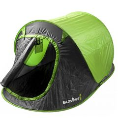 Summit Hydrahalt 2 Person Pop Up Tent - Lime Green